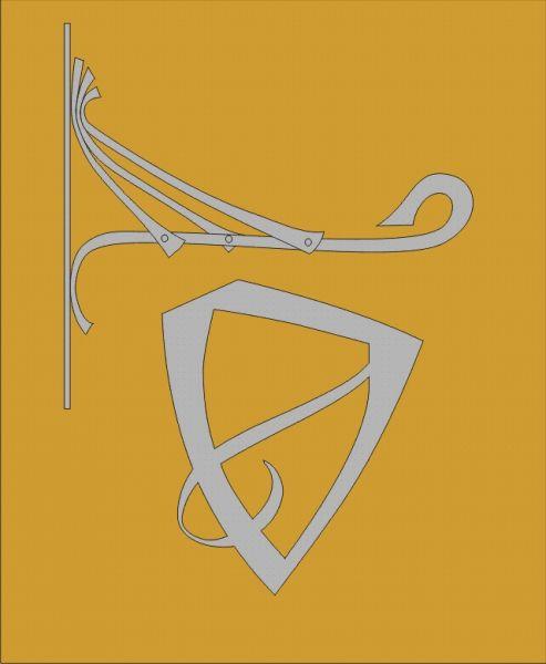 Vývěsní štít - kovaný - 4